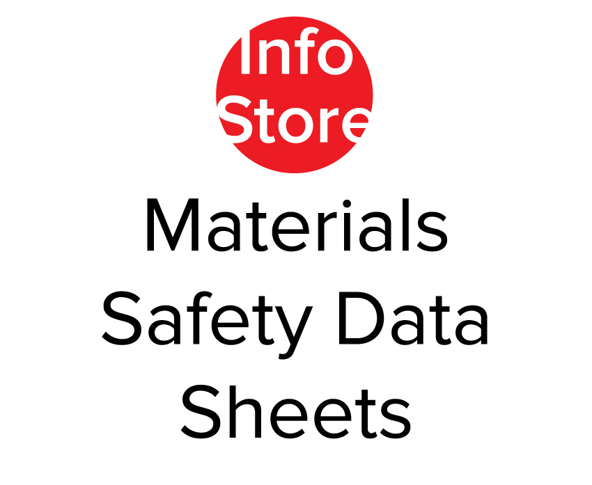 Materials Safety Data Sheets (MSDS)