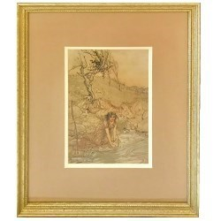 L2393 Veneto Argento Well Hung Frames and Prints