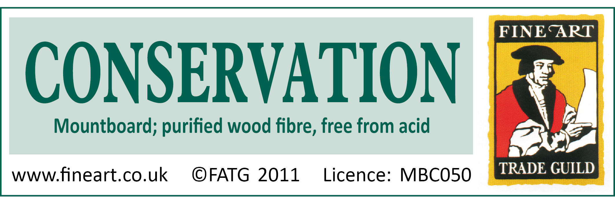 FATG Conservation Mountboard