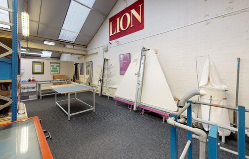 LION Picture Framing Supplies Showroom 13