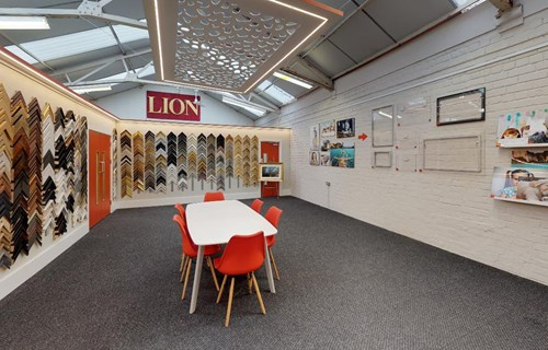 LION Picture Framing Supplies Showroom 01