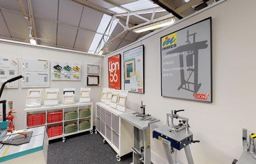LION Picture Framing Supplies Showroom 07